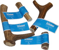 Stagbar 100% Natural Antler Dog Chew All sizes avalible